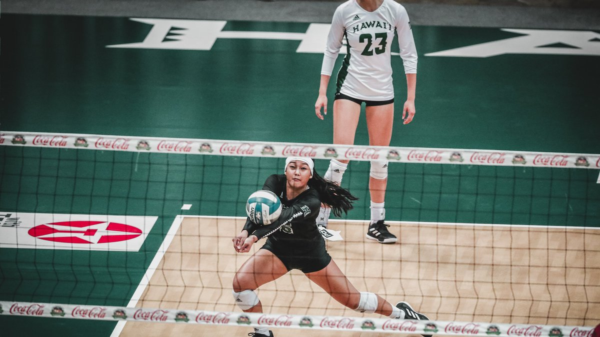 The University of Hawaii women's volleyball team wrapped up their non-conference schedule with...