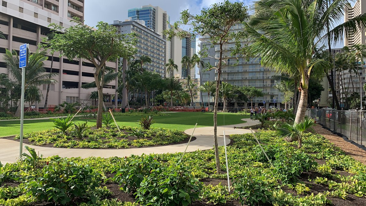 New park in Waikiki open to the public