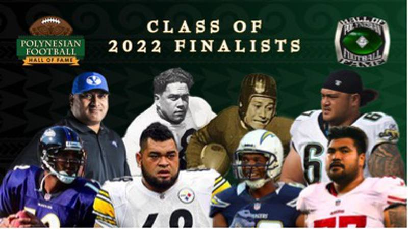 The Polynesian Football Hall of Fame announced their eight finalists for induction into the...