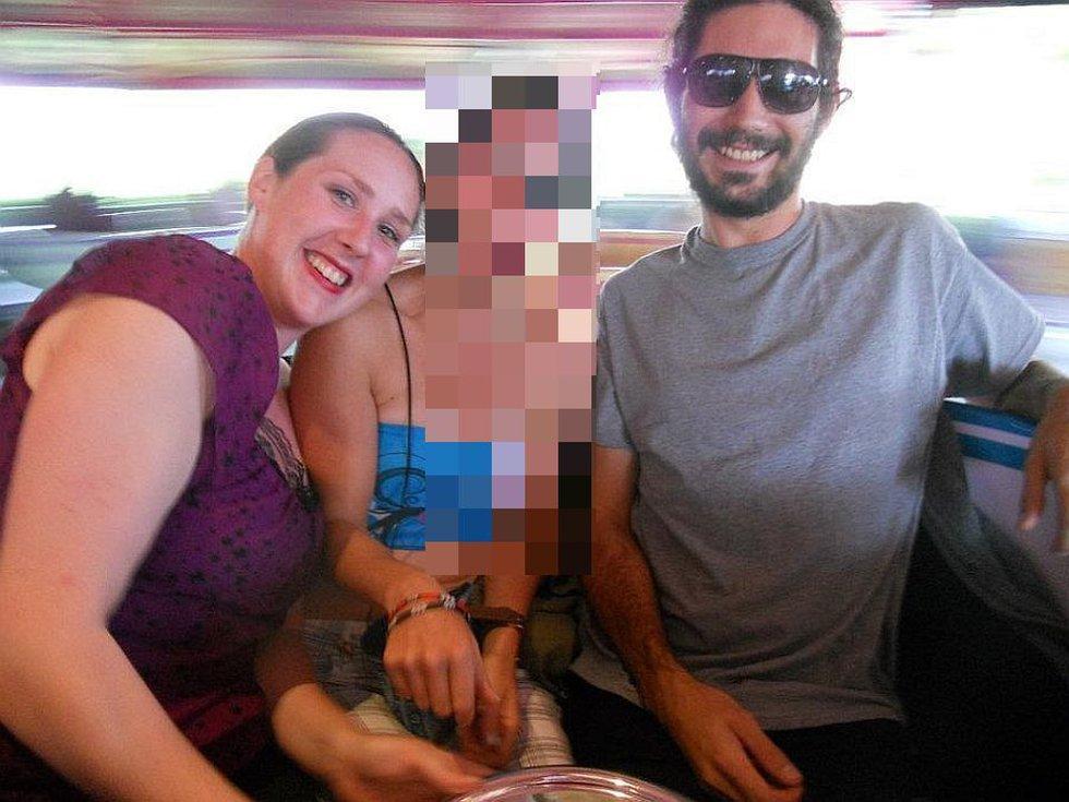 """Carly """"Charli"""" Scott pictured with ex-boyfriend Steven Capobianco"""