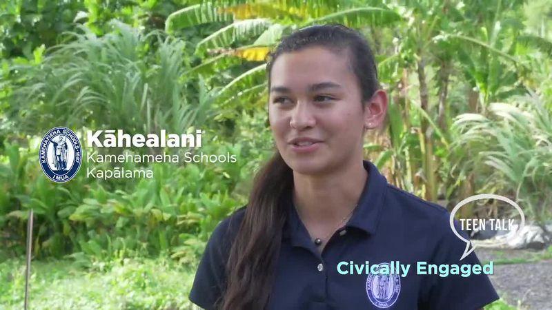 Teen Talk: Civically Engaged