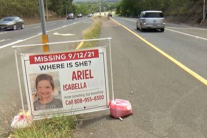 """The biological family of missing 6-year-old Isabelle """"Ariel"""" Kalua is trying to keep her case..."""
