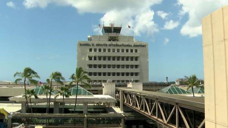 Honolulu's airport, the Daniel K. Inouye International Airport