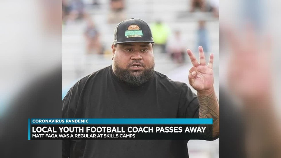Former 'Bow, youth football coach Matt Faga dies after contracting COVID-19
