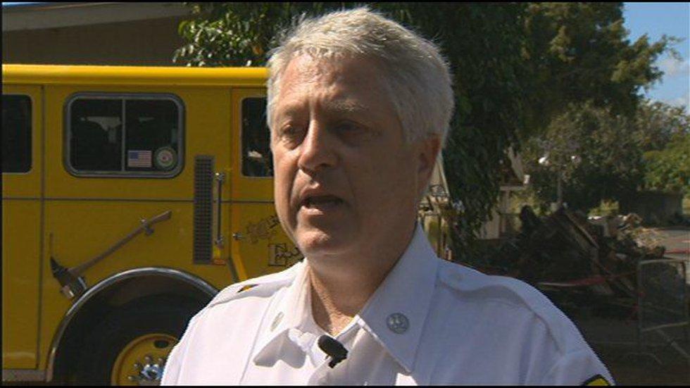 Capt. Terry Seelig, Honolulu Fire Department