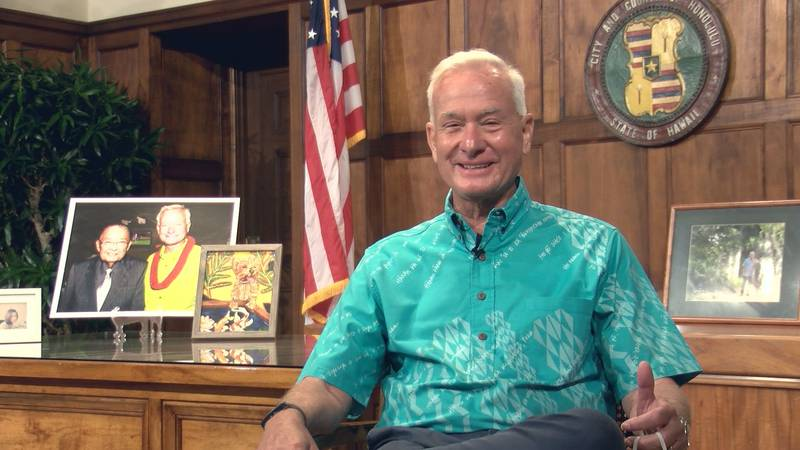 Outgoing Honolulu Mayor Kirk Caldwell talks about wanting to becoming Governor.