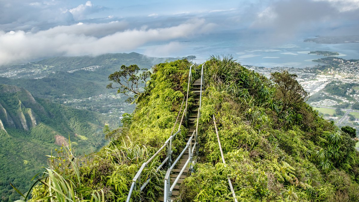 Mayor Kirk Caldwell intends for a city department to take possession of the Haiku Stairs and...