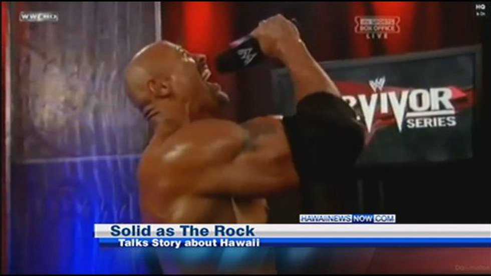 The Rock on WWE