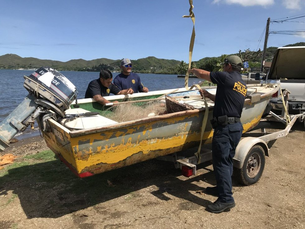 DOCARE Officers report that unregistered, unattended, illegal lay nets continue to be a major...