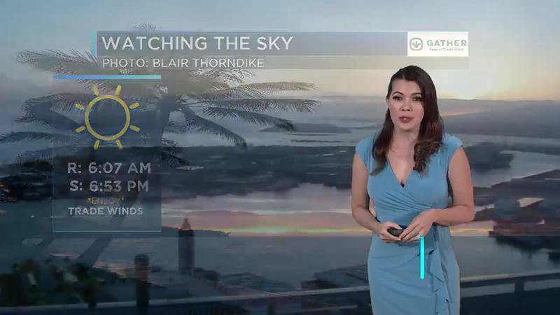 Earth Day Evening Weather; Jennifer Robbins
