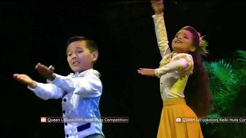 Master Keiki Hula and Miss Keiki Hula