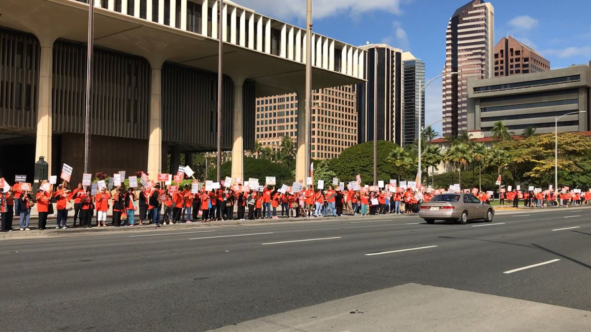 Hundreds rallied to drum up support for the non-profit organization.