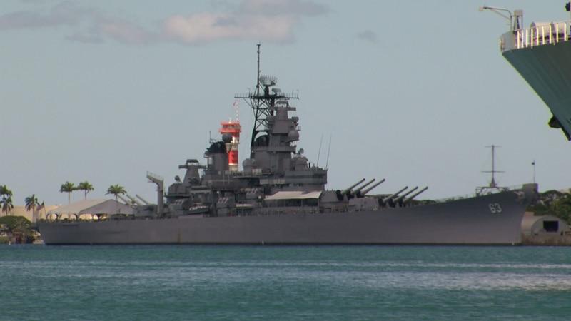 USS Battleship Missouri / File Image