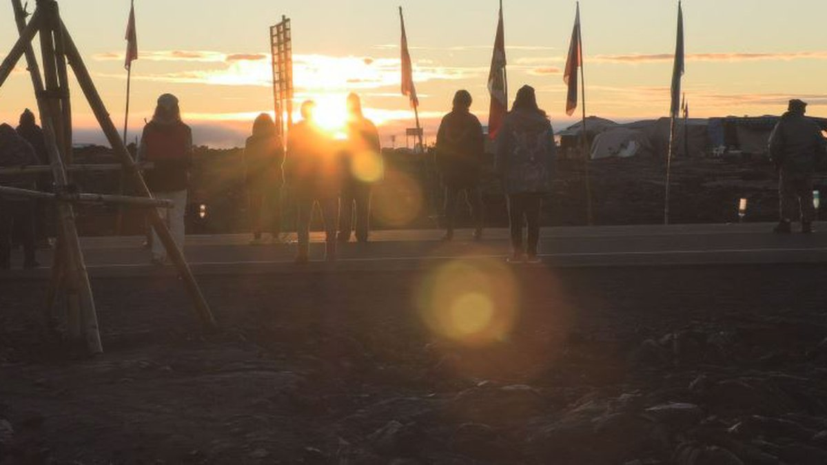 Protesters of the Thirty Meter Telescope say they're ready for a long, difficult fight.