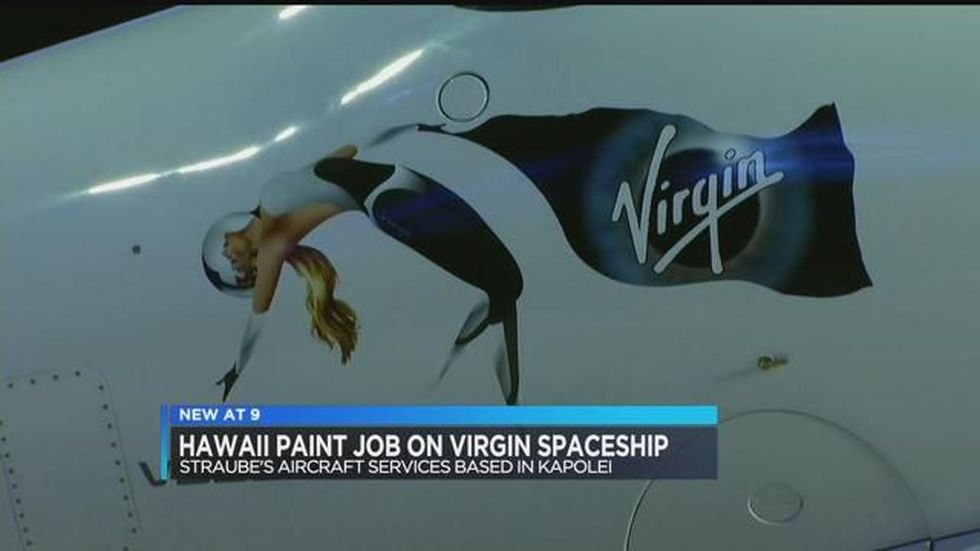 Virgin Galactic (Image: CBS News, Virgin Galactic)