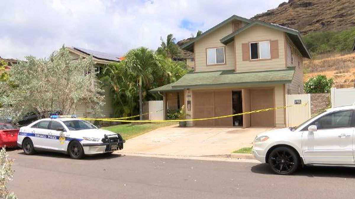 Police investigated the scene over the weekend.