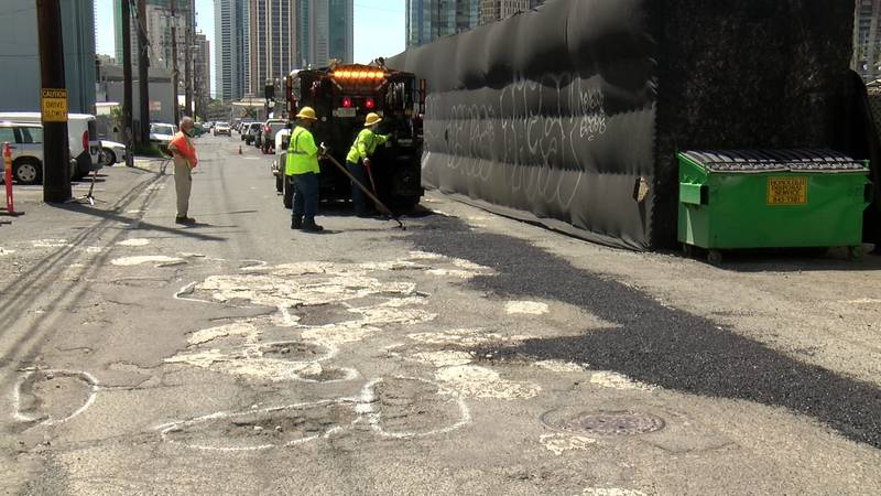 A city maintenance project in Kakaako means the end of years of strife and neglect for a...