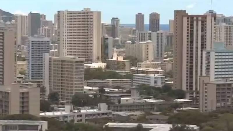 Honolulu skyline/FILE
