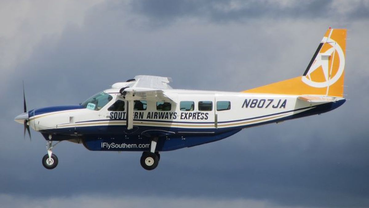 Southern Airways Cessna plane.