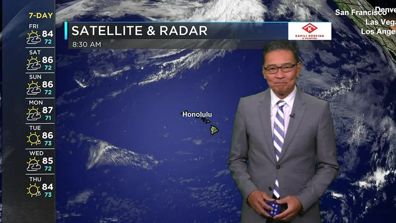 Morning Weather Forecast from Hawaii News Now - Friday, May 28, 2021