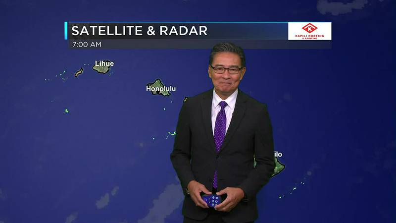 Morning Weather Forecast from Hawaii News Now - Wednesday, October 20, 2021