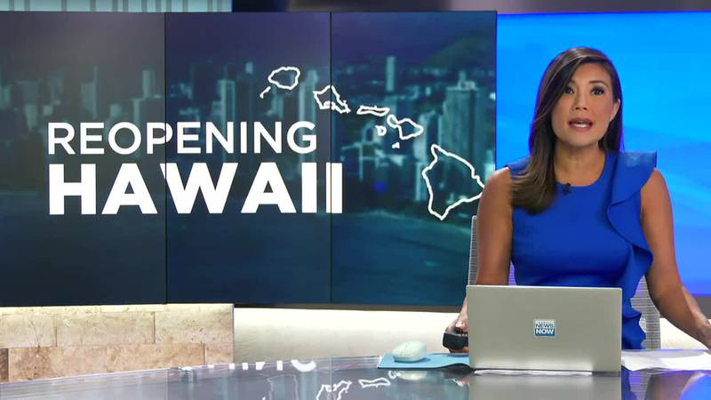 Governor: More restrictions will be lifted if Hawaii's COVID case count continues to decline