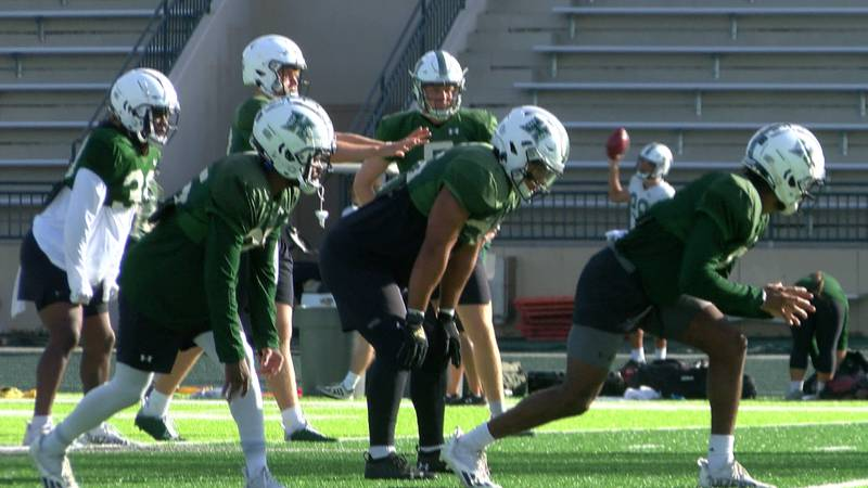 In anticipation of this season, the University of Hawaii fast-tracked renovations of the Ching...