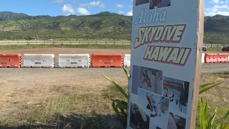 Skydive Hawaii says it's already taking reservations for flights this weekend. But HPD says it...