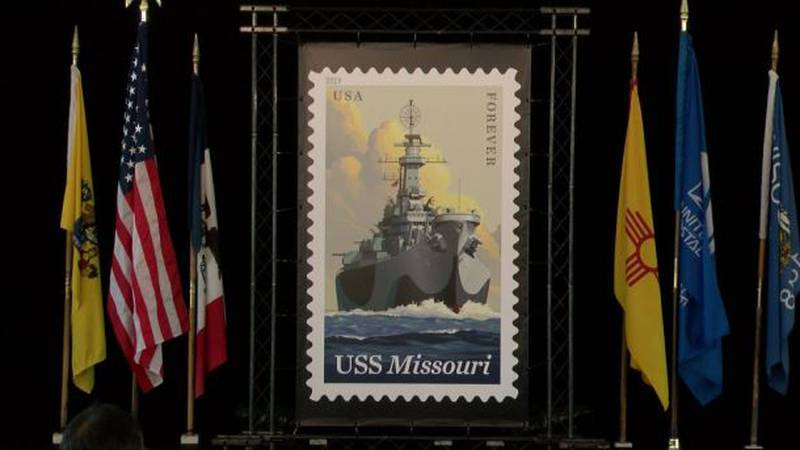 Check out the newest USPS stamp! (Image: Hawaii News Now)