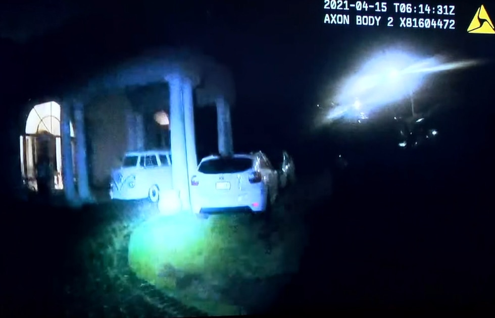 HPD body-cam footage of officer-involved shooting in Nuuanu Wednesday.
