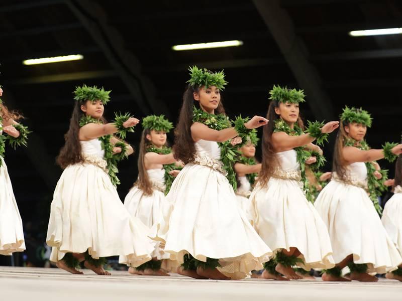 Hālau Kalaʻakeakauikawēkiu 2019 Hula ʻAuana