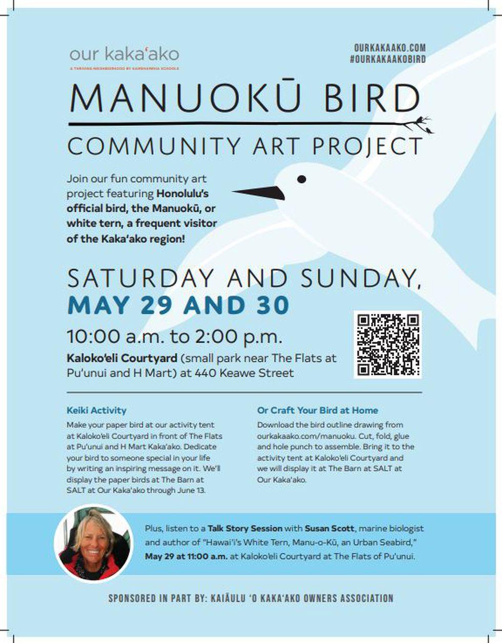 Manuoku Bird Community Art Project