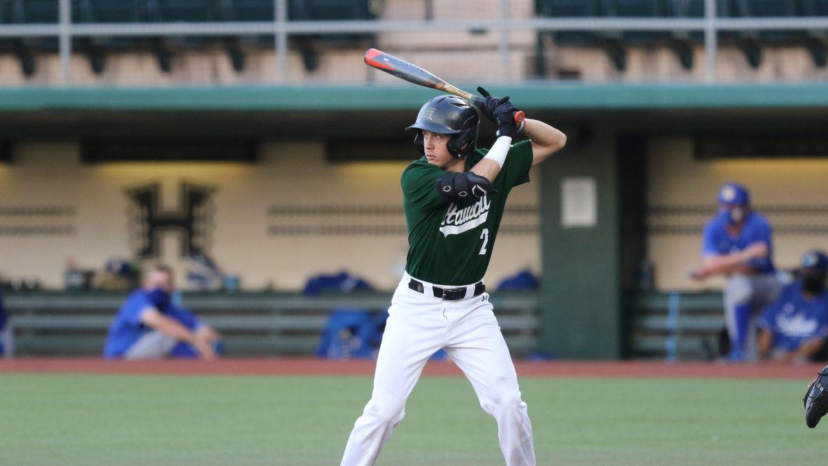 As the end of the 2021 Rainbow Warriors baseball season draws near, UH shortstop Kole Kaler has...