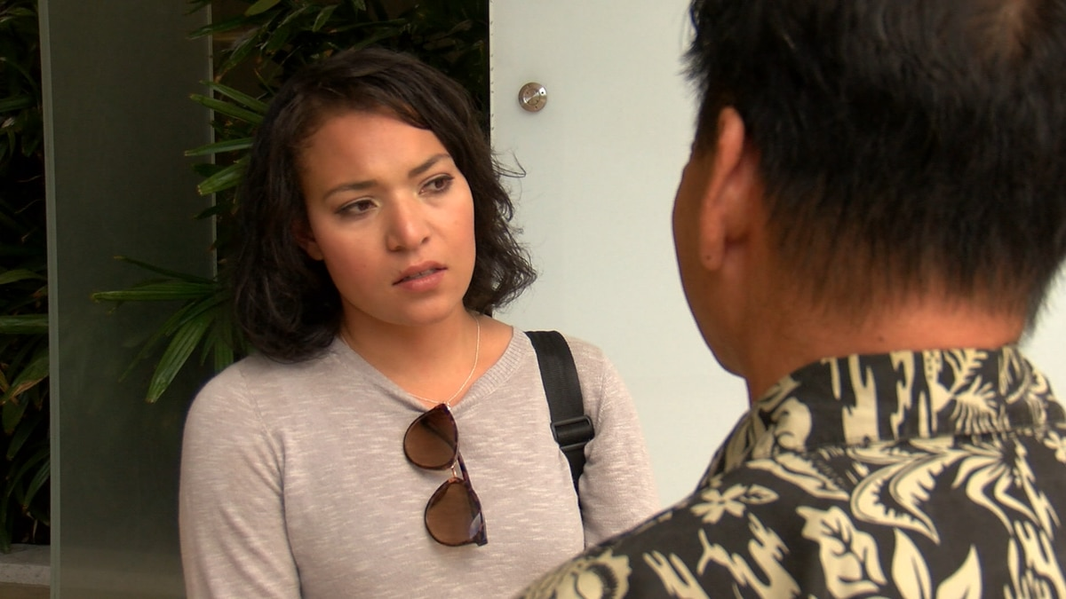 Hanna David was highly upset after her daughter was taken from her without a court order.