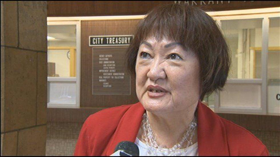 Councilwoman Ann Kobayashi