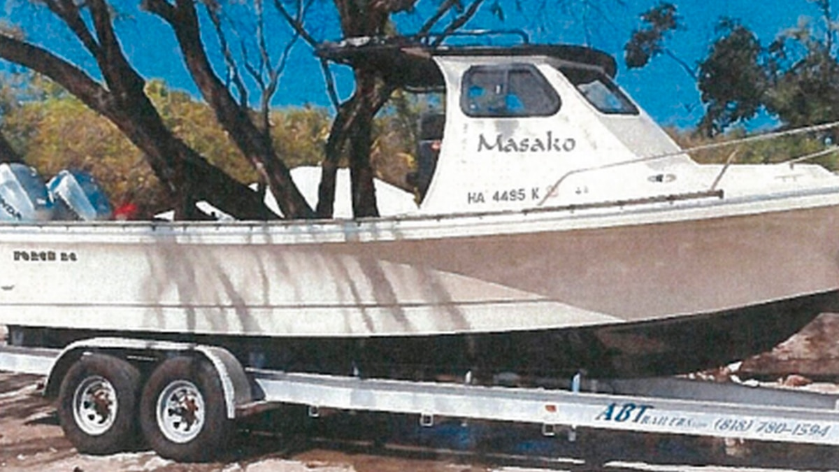 When environmental officials checked the fisherman's boat, they found illegal aquatic fish.