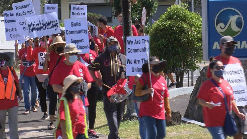International Workers Day rally