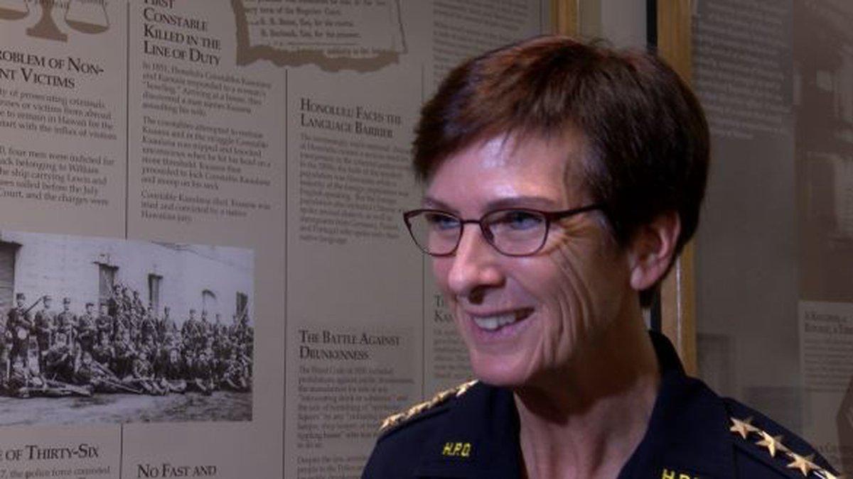 Honolulu Police Chief Susan Ballard