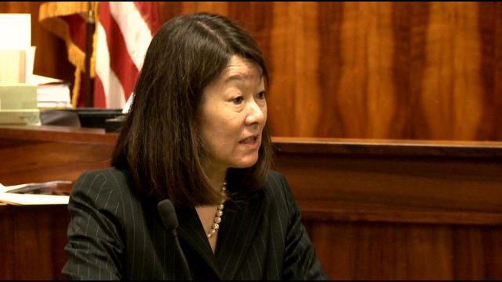 Prosecutor Janice Futa