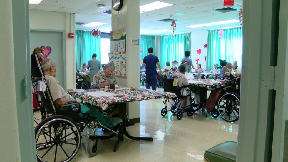Leahi Hospital patients