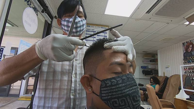 Depending on the size of the shop, most small salons and barbershops are only allowing 10...