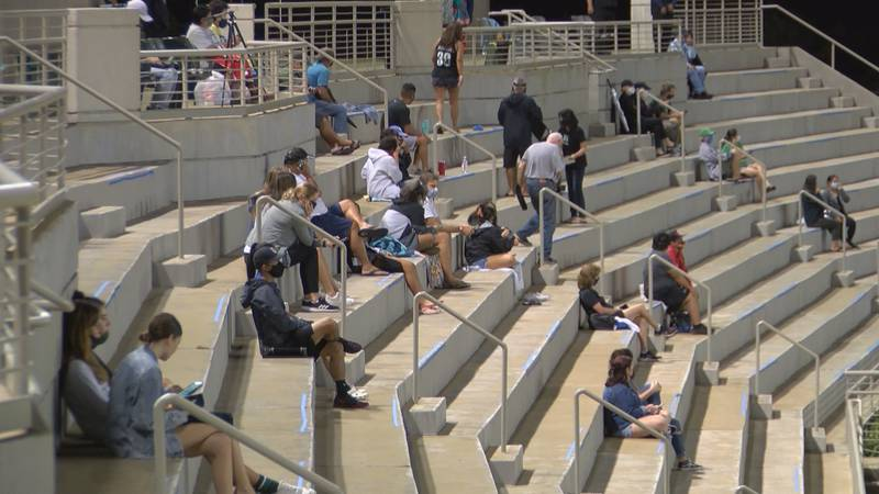 For the first time since 2019, fans were back in the stands at the Waipio Peninsula Soccer...