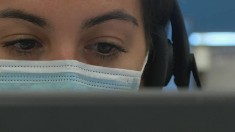 Contact tracers at the Waianae Coast Comprehensive Health Center are working long hours to keep...