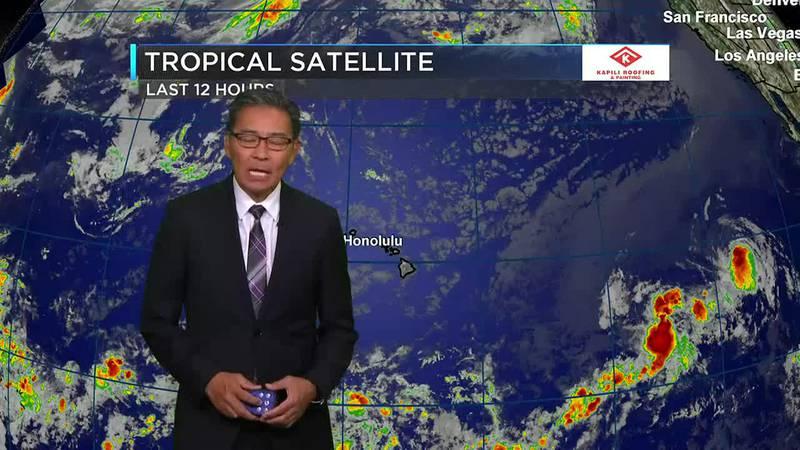 Hawaii News Now Sunrise Weather forecast Wednesday, August 4, 2021