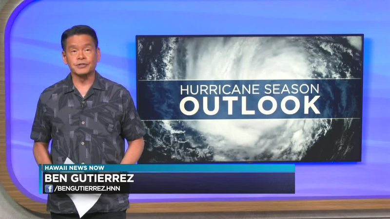 NOAA predicts 'near or below normal' 2021 hurricane season in Central Pacific