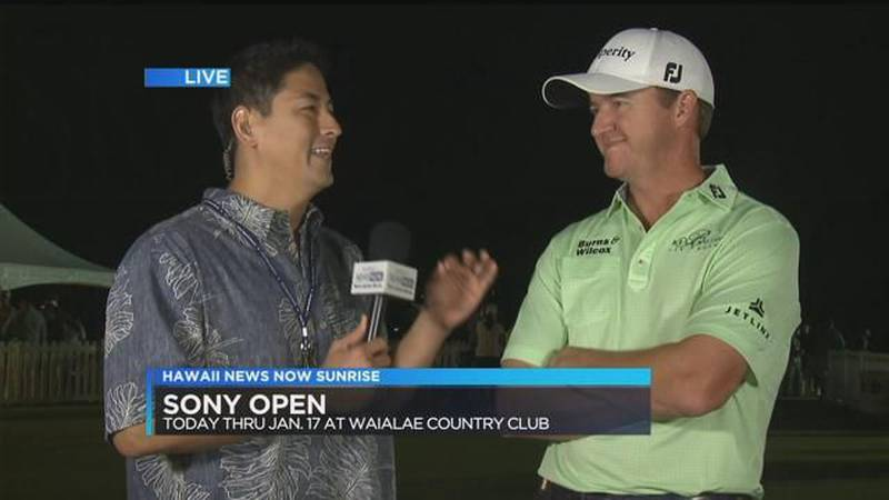 Golfers hit up the links for the 2016 Sony Open