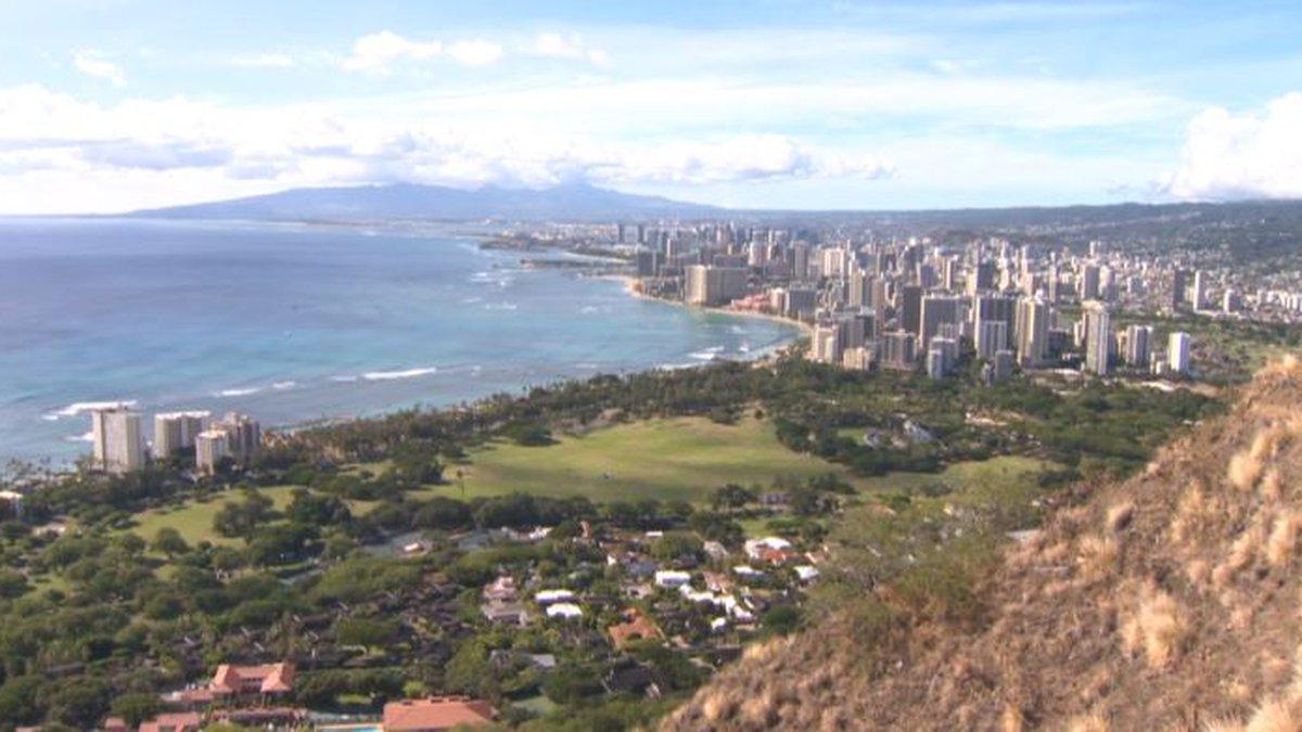 File image of Oahu from Diamond Head.