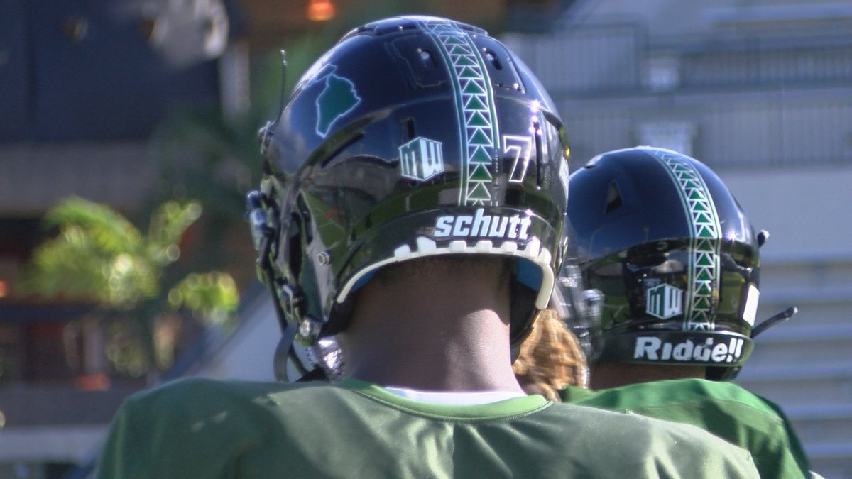 The University of Hawaii football team is in Southern California making their final...