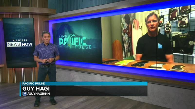 Pacific Pulse: Keoni Watson of FCS fins talks about the importance of surfboard fins