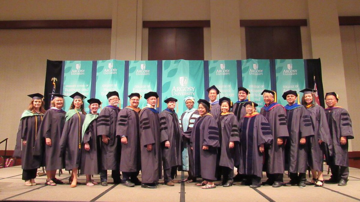 Argosy University's Hawaii campus celebrates commencement exercises at the Hawaii Convention...